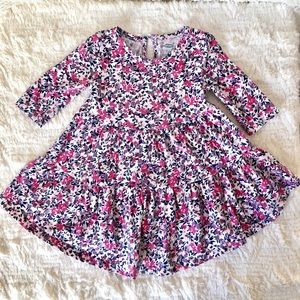 Old Navy Pink floral summer/fall dress.